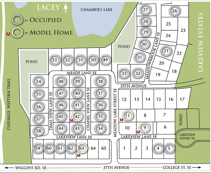 The 55 Plus Manufactured Home Park Provides Urban Convenience In A Rural Environment Bordering Beautiful Chambers Lake And Chehalis Western Trail