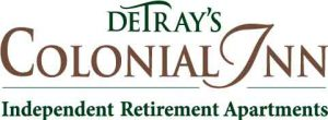 DeTray's Colonial Inn Retirement Apartments for 55+ Logo