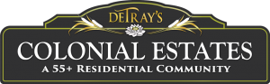 DeTray's Colonial Estates Logo